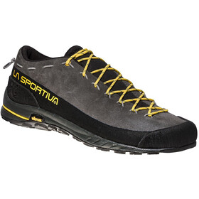 La Sportiva TX2 Leather Kengät Miehet, carbon/yellow